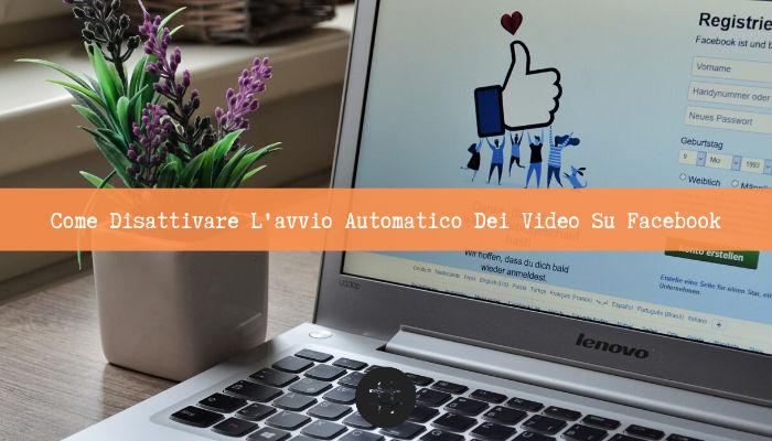 riproduzione automatica video facebook