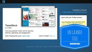 Read more about the article Essential Tools: mini guida a TweetDeck