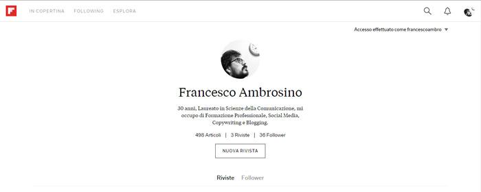 profilo flipboard