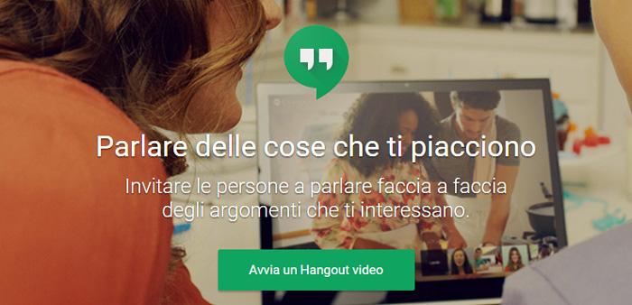 hangouts video
