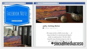 Read more about the article Facebook Note: pro e contro