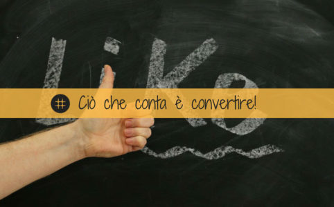 Social media marketing conversione