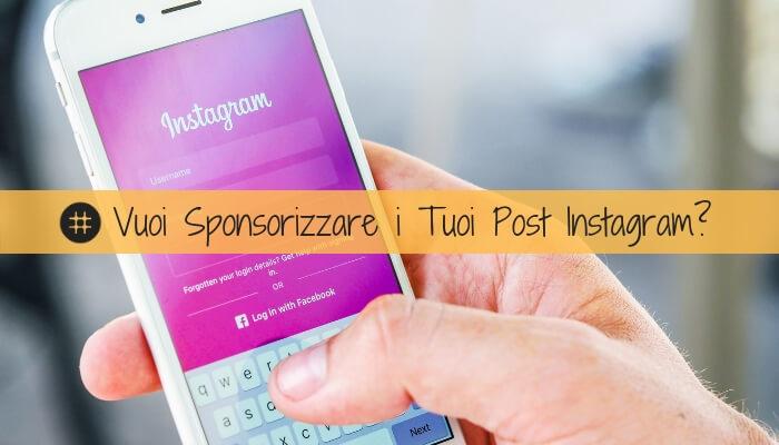 Come sponsorizzare i tuoi post nella gallery di Instagram