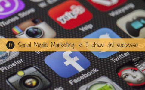 Social Media Marketing le 3 chiavi del successo